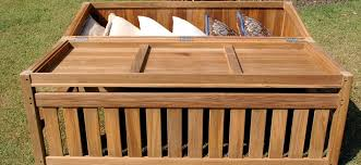 furniture strong gray painted wooden outdoor storage bench cool