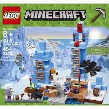 Minecraft Bedding Walmart by Lego Minecraft The Ice Spikes 21131 Walmart Com
