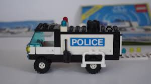 100 Lego Police Truck LEGO Classic Town Mobile 6450 Review YouTube