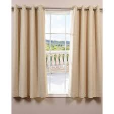 Burgundy Grommet Blackout Curtains by Achim Semi Opaque Ombre 50 In W X 63 In L Tie Up Shade Curtain