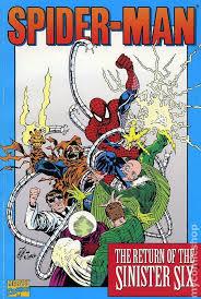 Spider Man The Return Of Sinister Six TPB 1994 Marvel Comic Books