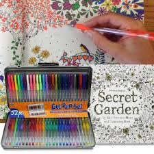 Buy AI Friedman 52 Gel Pen Set W Secret Garden Coloring Book In Cheap Price On Alibaba