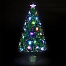 180cm 6ft Fibre Optic Meteor Christmas Tree With 48 LEDs Xmas