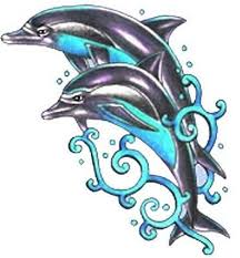 Dolphin Tattoos Sample Tattooeve Adorable Dolphins