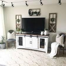 33 Best Farmhouse Living Room TV Stand Design Ideas