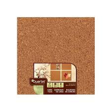 quartet cork tiles 12 x 12 corkboard mini wall