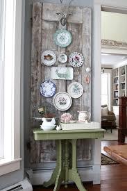Decorating Ideas Vintage Door Plate Wall