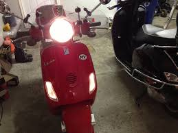 Project Report Installing ScooterWest LED Running Lights And Turn Indicators On A 2010 Vespa GTS 300 Ie Super