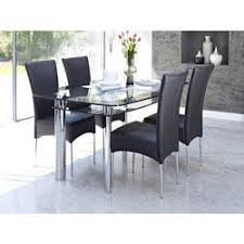 ss glass dining table at rs 15000 piece glass dining room table