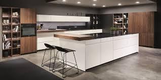 wohnküche nobilia pura weiss hochglanz kitchen concept