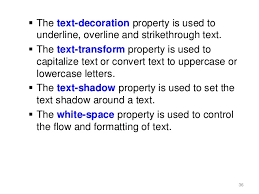 Text Decoration Underline More Space by Web Engineering Introduction To Css