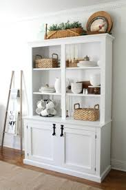 Kitchen Dining Styling Hutch To Beautify Room Decoration