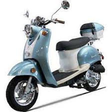 50cc 4 Stroke Znen Moped Euro Gas Motor Scooters