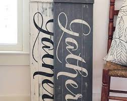 Rustic Dining Room Decorations by Dining Room Decor Etsy
