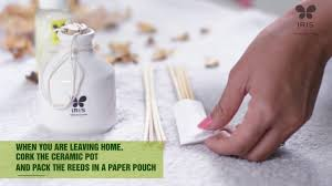 Lampe Berger Instructions For Use by How To Use Your Iris Reed Diffuser Youtube