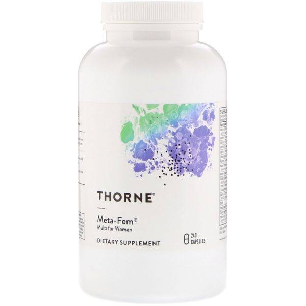 Thorne Research Meta-Fem Complete Dietary Supplement for Women