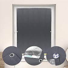 verdunkelungsrollo ohne bohren 76x93cm dachfensterrollo mit saugnäpfe sonnenschutz rollo für velux blickdicht gardinen tragbare verdunkelungsvorhang