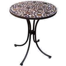 table ronde mosaique fer forge table mosaïque table fer forgé votre table mosaïque ronde ou