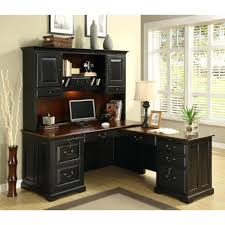 computer desks u shaped computer desk with hutch l glass corner