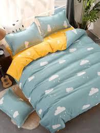 cloud print bedding set bedding cloud