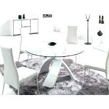 table de cuisine ronde en verre table en verre ronde table ronde en verre extensible table en verre