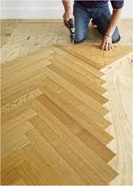 How To Install Vinyl Plank Flooring On Wood Subfloor Stock A Herringbone Floor