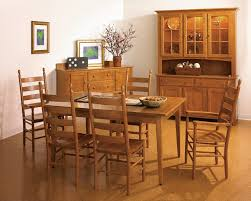 100 Shaker Round Oak Table And Chairs Dining Room Furniture Cabot House