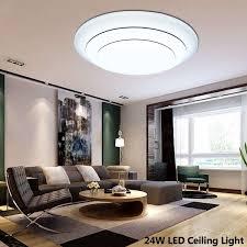 Ultra Thin 5cm Simple Modrn LED Ceiling Lights For Living
