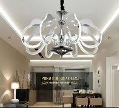 2017 new arrival led swan chandelier lighting bedroom living room