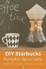 Low Fat Pumpkin Spice Latte Recipe healthy pumpkin spice latte diy starbucks fall drink u2014 trena