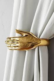 White Antler Curtain Tie Back by Curtain Rods Finials U0026 Tiebacks Anthropologie