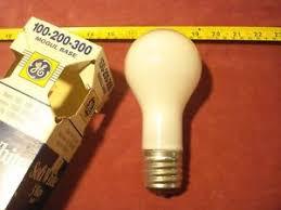 0239 ge 3 way bulb mogul base soft white 100 200 300w ebay