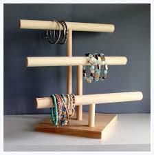 Three Tier Jewelry Watch Headband Organizer Retail Product Display Stand Craft Show Rack Mens Baby