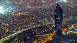 100 Where Is Kuwait City Located Cityscape From Top Day To Night Transition Timelapse