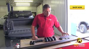 Putco Bed Rails by How To Install Putco Locker Truck Bed Rails Youtube