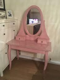 Vanity Table Ikea Uk by Ikea Pink Hemnes Dressing Table In Livingston West Lothian