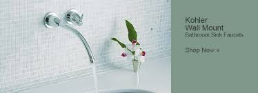 Wall Mounted Faucet Bathroom by Kohler Bathroom Faucets Kohler Sink Bidet Tub U0026 Shower Faucets