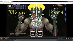 Pumpkin Moon Terraria by Japanese Player Gives Moon Lord A Makeover Imgur