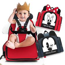 Disney Multi-Functional Diaper Bag & Portable High Chair Disney Mini Saucer Chair Minnie Mouse Best High 2019 Baby For Sale Reviews Upholstered 20 Awesome Design Graco Seat Cushion Table Snug Fit Folding Bouncer Polka Dots Simple Fold Plus Dot Fun Rocking Chair I Have An Old The First Years Helping Hands Feeding And Activity Booster 2in1 Fniture Cute Chairs At Walmart For Your Mulfunctional Diaper Bag Portable