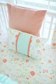 Coral And Mint Crib Bedding by 41 Best Peach Baby Bedding U0026 Nursery Inspiration Images On