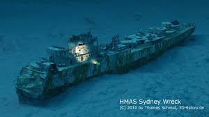 The Sinking Of The Britannic Old Version hmas sydney today this ship was lost in 1941 her entire crew of