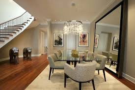 Dining Room Mirrors Mirror In Over Buffet Decorative Ideas For