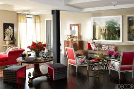 Red Black And Brown Living Room Ideas by Decorating Ideas Foxy Decorating Ideas Using L Shaped Brown Suede