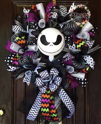 Nightmare Before Christmas Zero Halloween Decorations by Halloween Wreath Jack Skellington Nightmare Before Christmas