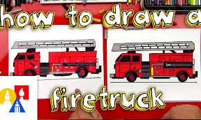 100 How To Draw A Fire Truck For Kids YouTube