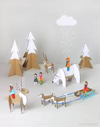 Papercraft Winter Wonderland All For The Boys