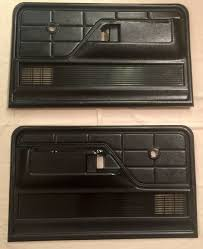 100 1977 Ford Truck Parts 73 79 FORD Truck Door Panels Black 1973 1974 1975 1976 1978