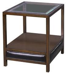 casa padrino luxus mahagoni beistelltisch braun schwarz 52 x 52 x h 64 cm wohnzimmer beistelltisch mit glasplatte und schublade