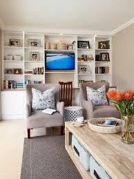 gemütliches wohnzimmer mit weißem bild kaufen 11428368