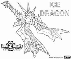 28 Collection Of Ice Dragon Coloring Pages